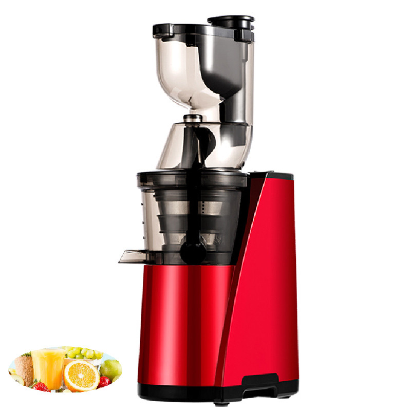 BEIJAMEI New Arrival Large Mouth Carrot Apple Slow Juicer Electric Fruit Vegetable Citrus Juice Extractor Squeezer