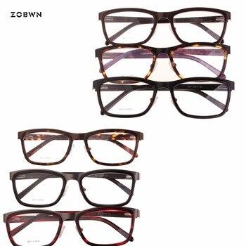 19d0a5946 ZOBWN retro Óculos de Armação Homens mix venda oculos armacao Oculos de  grau óculos de Armação de Óculos masculinos Mulheres Óculos de Miopia lentes  opticos