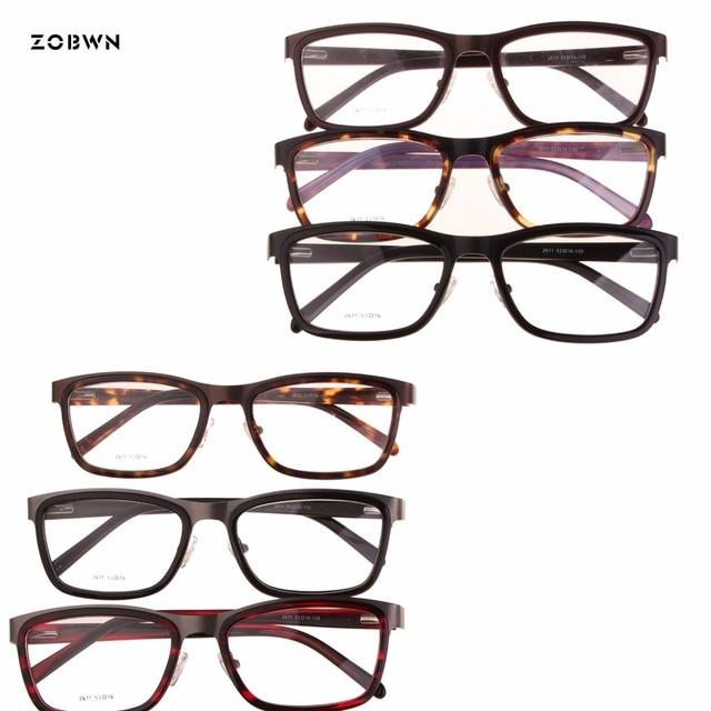 ZOBWN retro Óculos de Armação Homens mix venda oculos armacao Oculos de grau  óculos de Armação f0afd5ea27