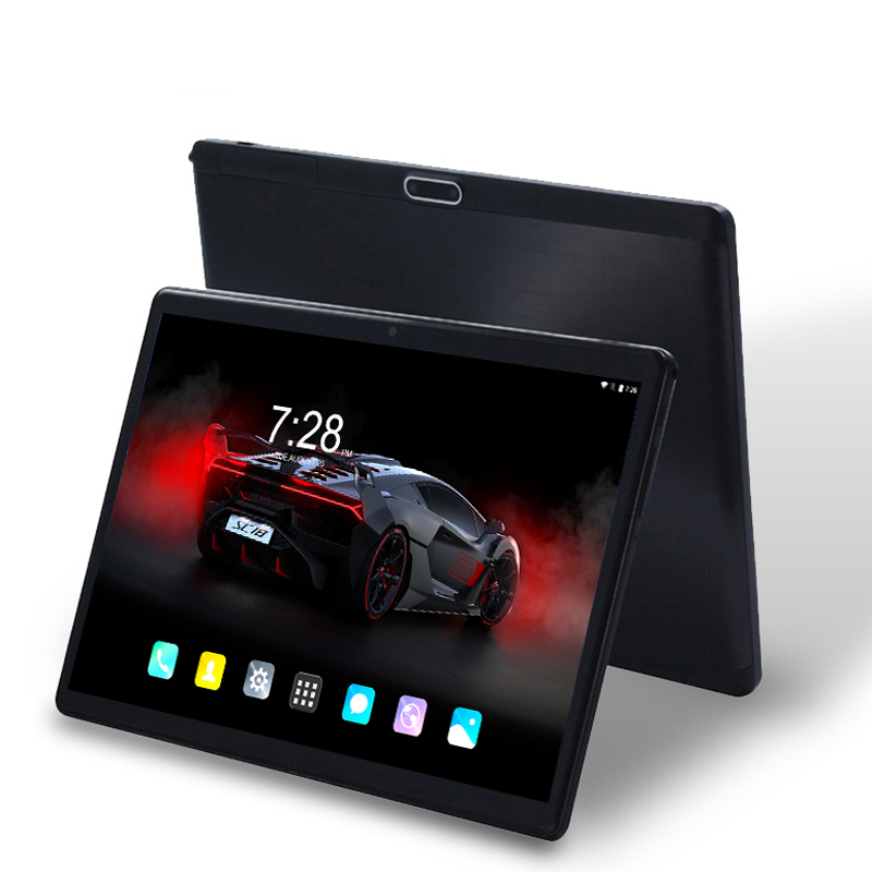 Android 8.0 Tablet Pc 10 Inch 3G/4G Phone Tablet PC Octa Core RAM 6GB ROM 64GB 2.5D Tempered Glass Tablets 10.1 Kids FM GPS WIFI