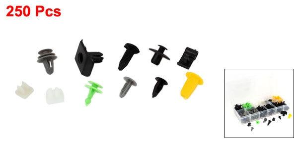 Remaches Universales Plastico Clip Tapon Tornillo Coche Remache 9x8mm