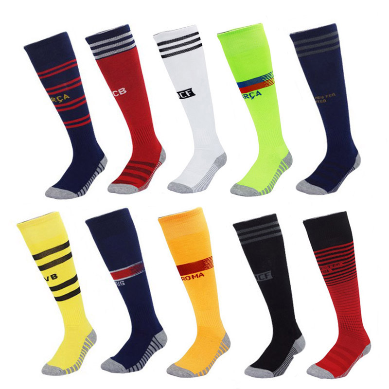 Football-Stocking Sport-Socks Soccer Race-Course Racing Women Competition Cotton Male