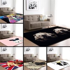 Image 2 - Cartoon Large Living Room Carpet 3D Pet Shapi Dog Tea Table Rugs Home Decor Baby Crawling Mat Kid Bedroom Area Rug Carpet
