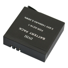 High Quality 3.85V 1400mAh Rechargeable Battery for Xiaomi Yi 2 4K Sport Action Camera