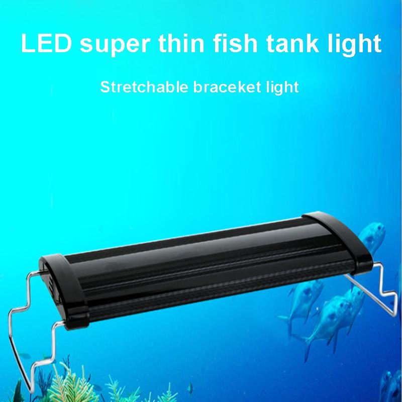30 50cm 33pcs LED Aquarium LED Lighting Plant Coral Marine Full Spectrum Fish Tank Lights for Aquarium Tools in Lightings from Home Garden