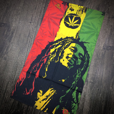 10 kinds Headband Hair accessories Bob Marley bicycle bandanas bicicleta Rock Riding hood Punk Kerchief skateboard Deer headwear