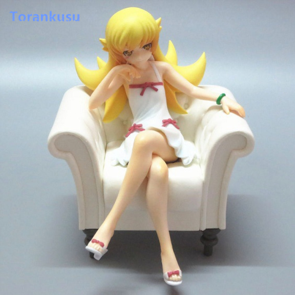 Toys & Hobbies Figma Doll Figurine Pvc Figuras Anime Figure Girl Gift Toys Model Pg Luxuriant In Design Independent Monogatari Series Action Figure Oshino Shinobu Sofa Ver