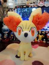 Tomy/Pokemon Small Plush Fennekin,A great birthday gift,Quality goods Soft Stuffed Plush Toy Free Shipping