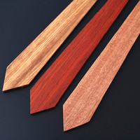 Mantieqingway Personality Mens Wood Ties Handmade Wood Neckties for Wedding Marriage Bowknots Gravatas Slim Cravat Male Ties
