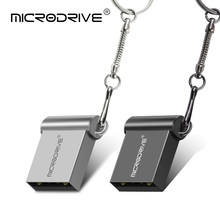 Micro mini metalen usb flash drive USB 2.0 4gb 8gb 16gb 32gb memory stick 64gb 128gb 100% real capaciteit mini pen drive U disk(China)