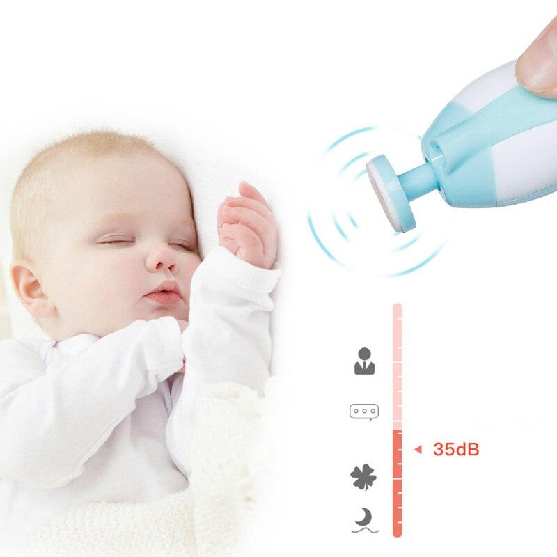 Купить электрические детские пилки для ногтей с светильник кой 6 шлифовальных