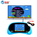 RS-8A Consola de Videojuegos de 8 Bits 2.5 pulgadas Jugador Handheld del Juego Incorporado 260 Juegos Diferentes Para Niños Juego de Tetris de Color