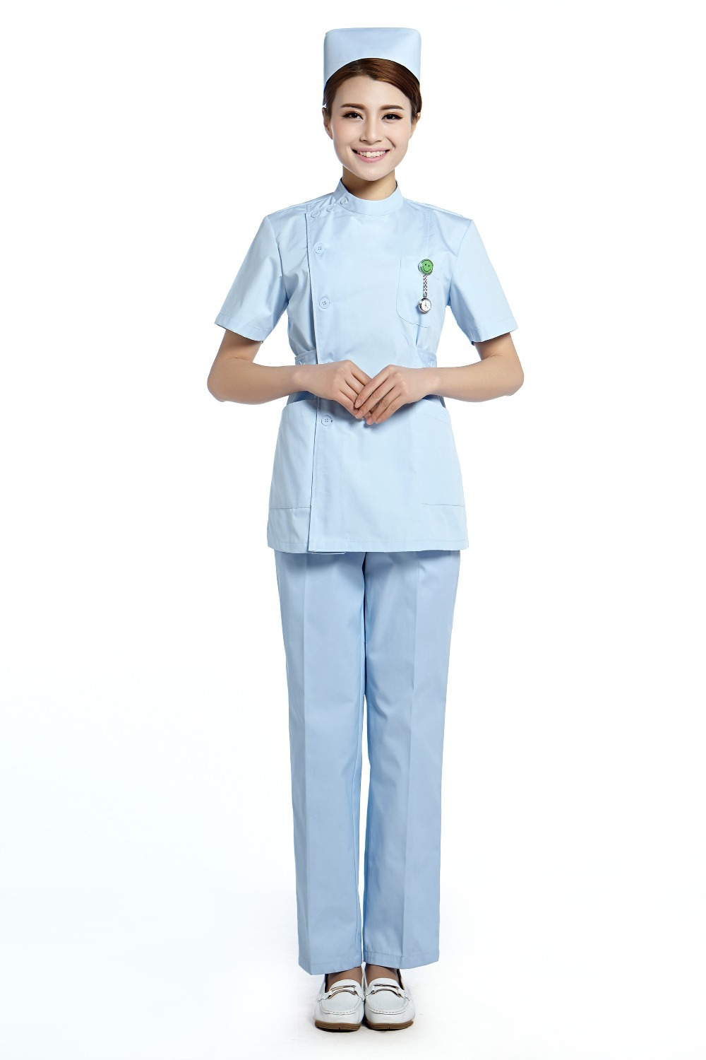 2015 Oem Hospital Uniform Nurse Coat Hospital Clothes -5799
