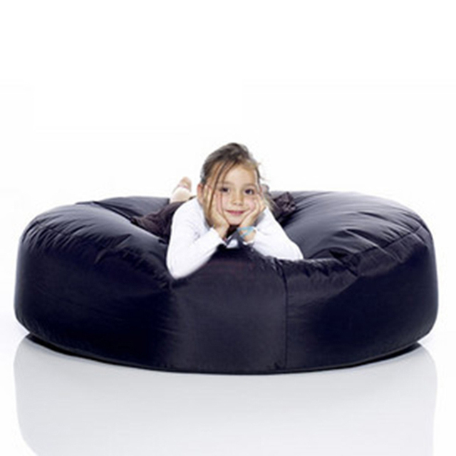 Free Shipping Fatboy Round Beanbag Bean Bag Sofa Chair Bed Size 120