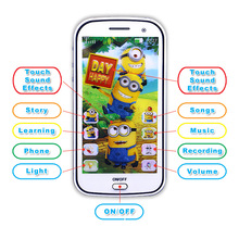 New Baby Mobile Phone Russian Language Learning Machines Talking Smart Phone Learning Interactive Toys