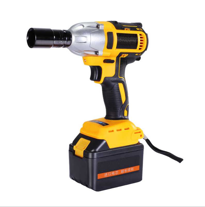 350N.m 3200r/min lithium Battery Brushless motor Socket wrench Electric Impact Wrench Car Tyre Wheel cordless wrench Drill цена