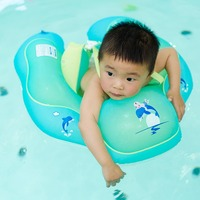 Baby Swimming Ring Inflatable Child Swimming Circle Kids Swim Pool Accessories Infant Swim Trainer Rings Infant Armpit Floating