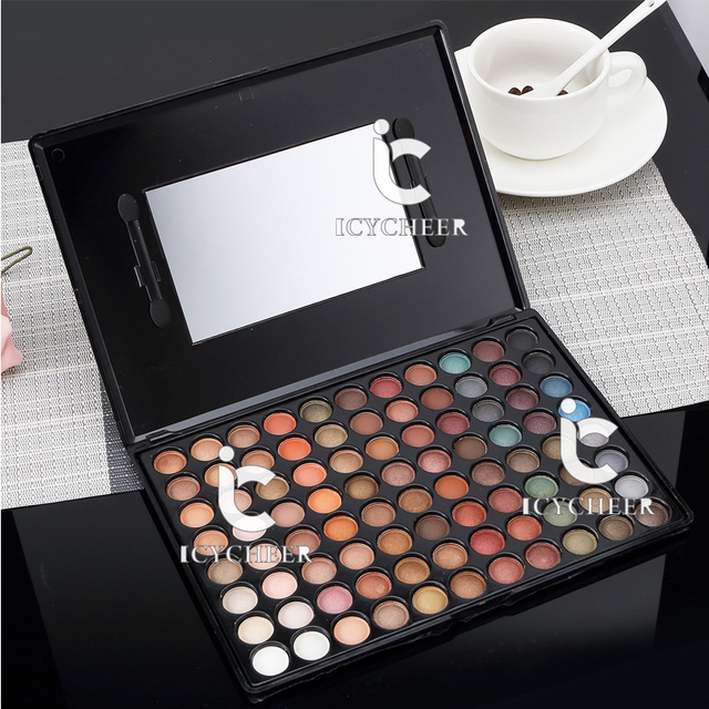 Eyeshadow Palette 88 Colors Eye Shadow Pearl & Matte Warm Makeup Palette Naked