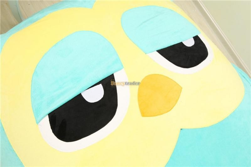 Fancytrader 200cm X 150cm Huge Giant Cute Hoot Owl Tatami Bed Carpet Sofa, Gift For Girls, Free Shipping FT90291 (9)