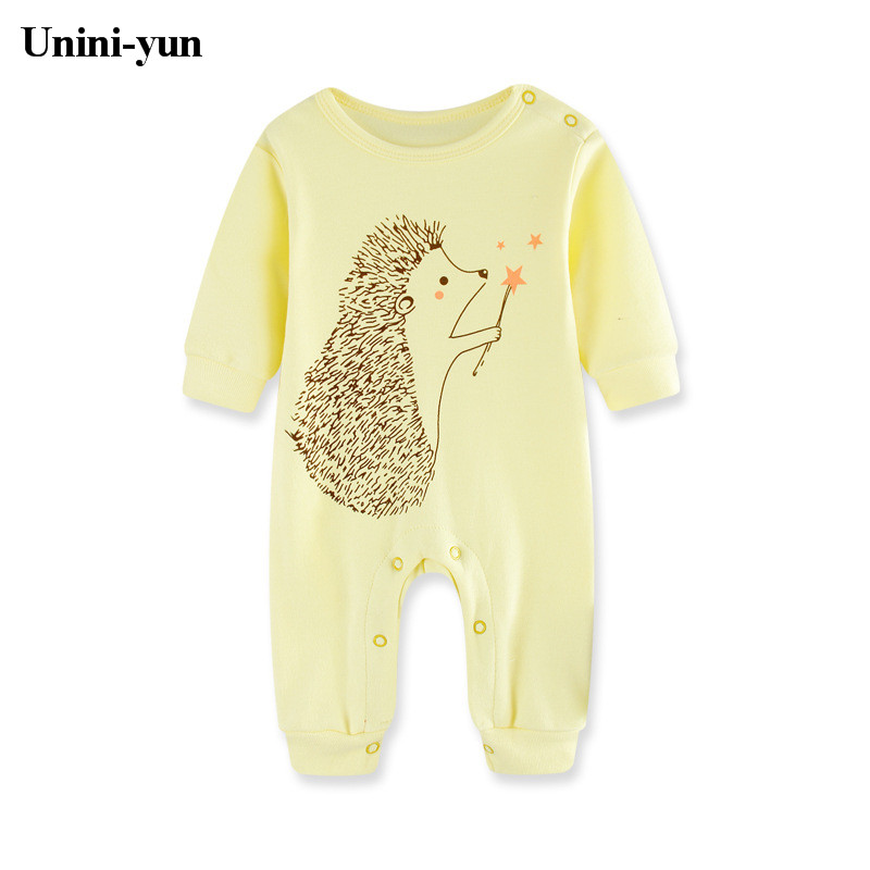 baby clothes new hot 100% cotton winter and autumn baby rompers baby clothing boys/girls/infant/newborn/kids long sleeve clothes 2016 new winter spring autumn girls kids boys bunnies patch cotton sweater comfortable cute baby clothes children clothing