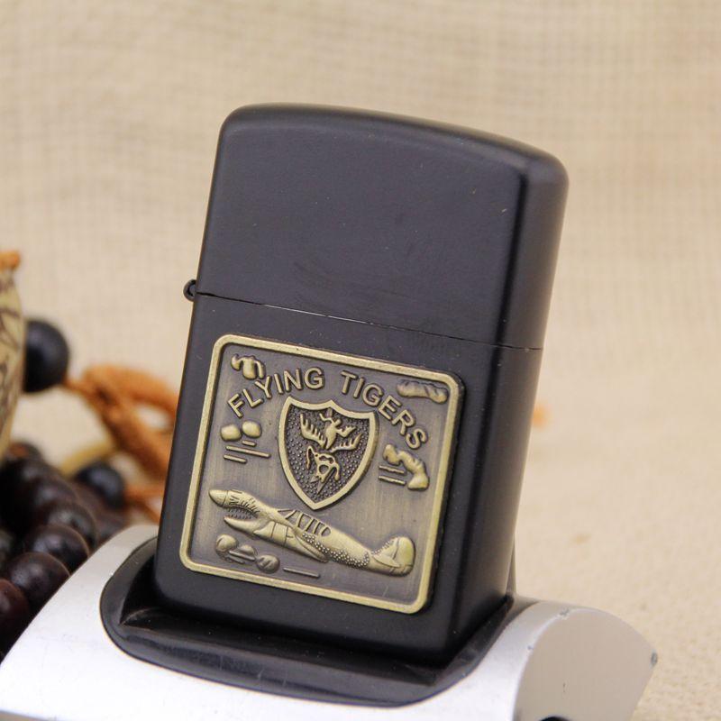 Новый своих ретро металл черный матовый ветрозащитный Металл Нефть Авто-прикуриватели Курение топлива Запальные средства для мангала керо...