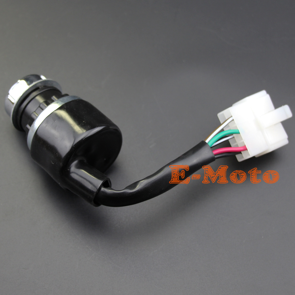 Ignition Switch Key Switch UTV GO KART ATV 5 PIN WIRE CHINESE 50 110 ...