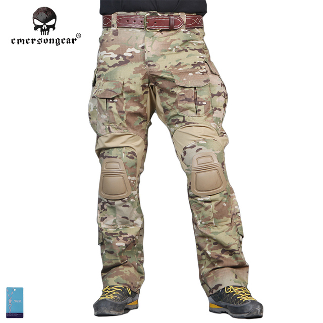 2e1833ec512d5 Pants winter Hunting Emersongear G3 Multicam Combat Military Army Airsoft  Tactical Emerson bdu Camouflage Trousers