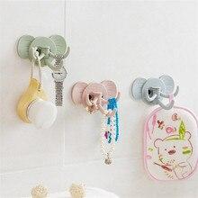 Bon 1pc Cute Elephant Holders Gadget Wall Mounted