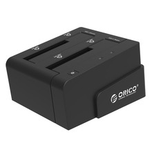 ORICO 6628US3-C Notebook dual disk hard disk drive high-speed copy USB3.0 hard disk box 2.5 / 3.5