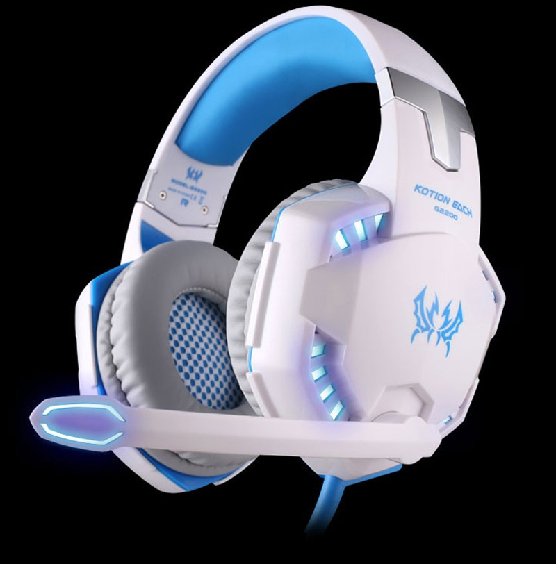 2PCS EACH G2200 Gaming Headset Vibration 7.1 Surround Sound USB Professional Game Headphone Earphone 3 Color Optional each g1100 shake e sports gaming mic led light headset headphone casque with 7 1 heavy bass surround sound for pc gamer