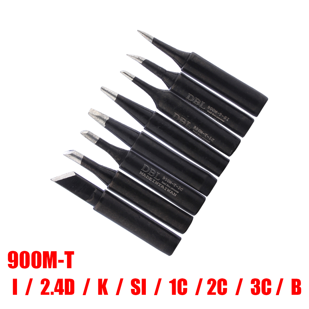 8pcs/lot 900M-T Soldering Tip Lead-free Soldering Iron Tip For 936 BGA Soldering Rework Station