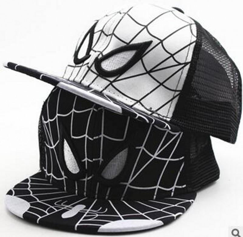 Prix pour En gros de haute qualité 2017 nouveau dessin animé spiderman garçons casquettes de baseball enfants chapeaux de soleil enfants snapback caps