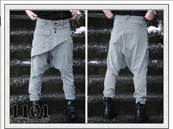 27-42 hot sell Men's casual harem pant korean style feet pant hip pop men's personality pant trousers singers pant free shipping фото