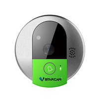 C95 HD 720P Wireless WiFi Security IP Door Camera Cat Eye Camera Night Vision Two Way
