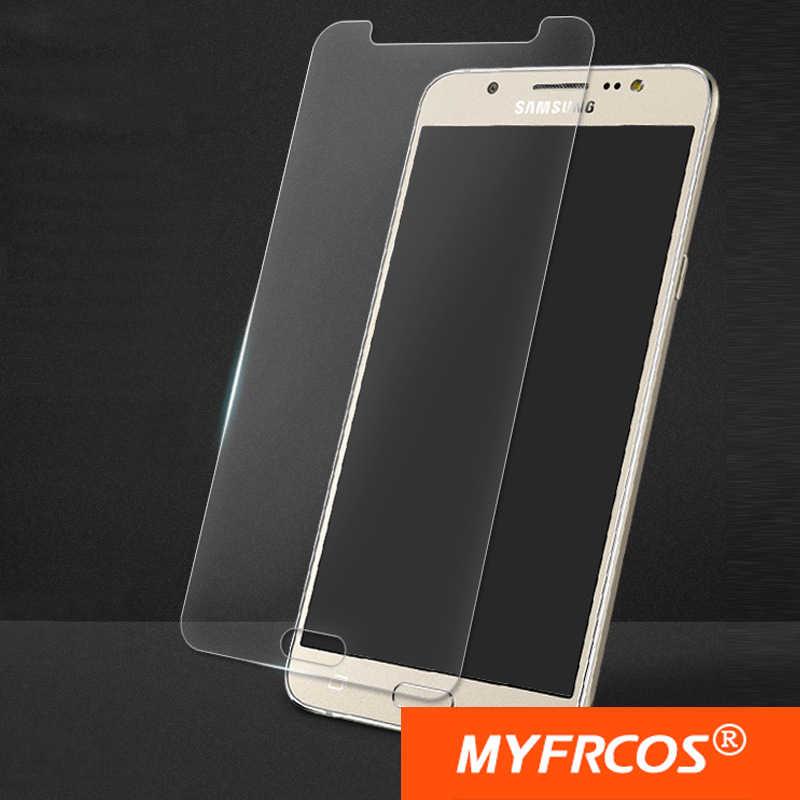 Vetro temperato Per Samsung Galaxy J1 J2 J3 J5 J7 2016 J120F J320F J510F J710F Protezione Dello Schermo Pellicola Protettiva 9 H Anti-Esplosione