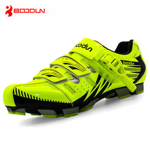 BOODUN Men Mountain Bike Shoes Vtt Cycling Sneakers Breathable Zapatillas Deportivas Hombre Self-Locking Zapatos Ciclismo