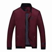 Plus Size 8XL 6XL 5XL 4XL Brand Jacket Men Trend Stand Collar Korean Slim Fit Mens