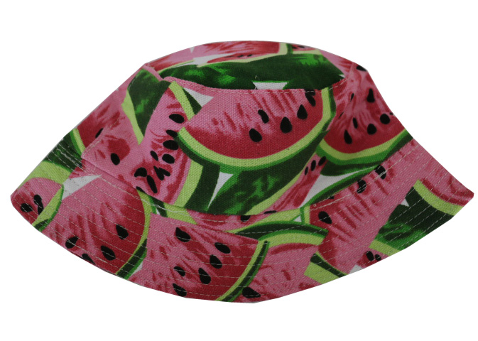 d49f0f23791fd Free Shipping 2018 New Casual Watermelon Print Fishing Hat Bucket Cap For kids  girls -in Bucket Hats from Apparel Accessories on Aliexpress.com