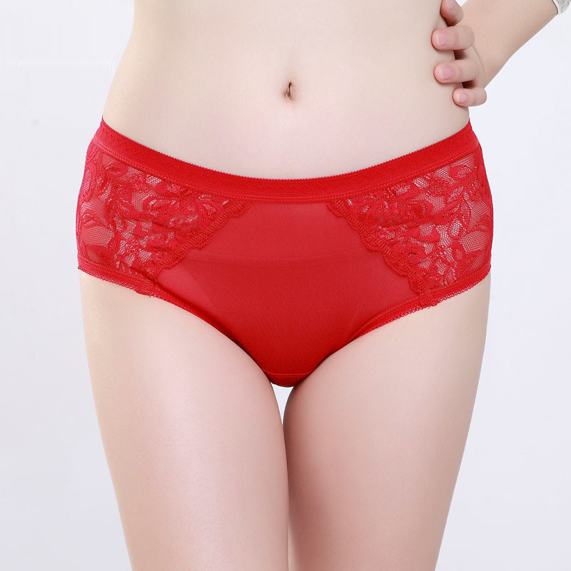 a1707e31949 Women Underwear 100% Natural Silk Big Size Style Breathable Silk ...