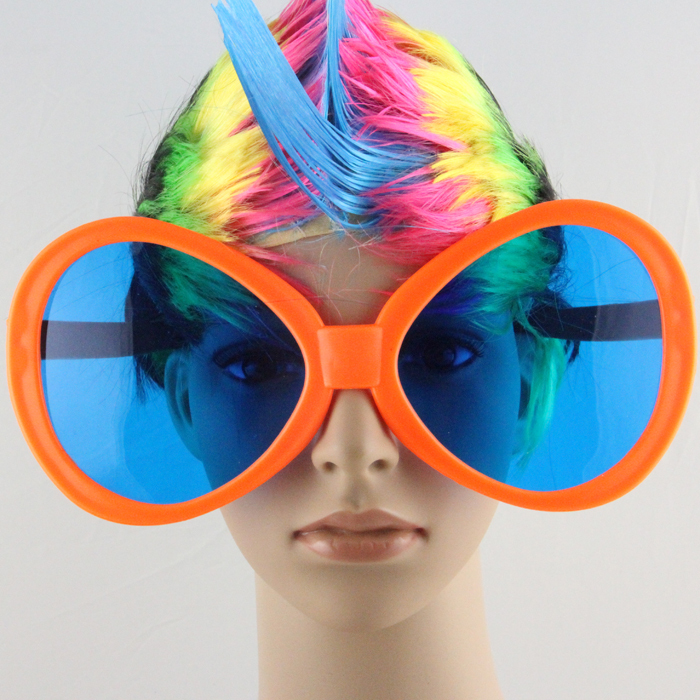 holiday party world cup fans glasses extra large funny glasses dance performances glasses props in sunglasses from mens clothing accessories on - Extra Large Eyeglass Frames
