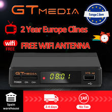 FTA DVB-S2 Gtmedia V7S HD Satellite TV Receiver 1080P FREE USB WIFI support YouTube 2 Years Cccam cline free from Freesat v7(China)