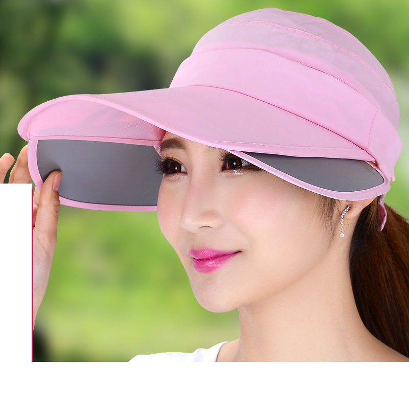 6edef66f096 Aliexpress.com   Buy Summer hat female sunbonnet cap retractable large brim sun  hat uv sun hat outside sport visor from Reliable sport visor suppliers on  ...