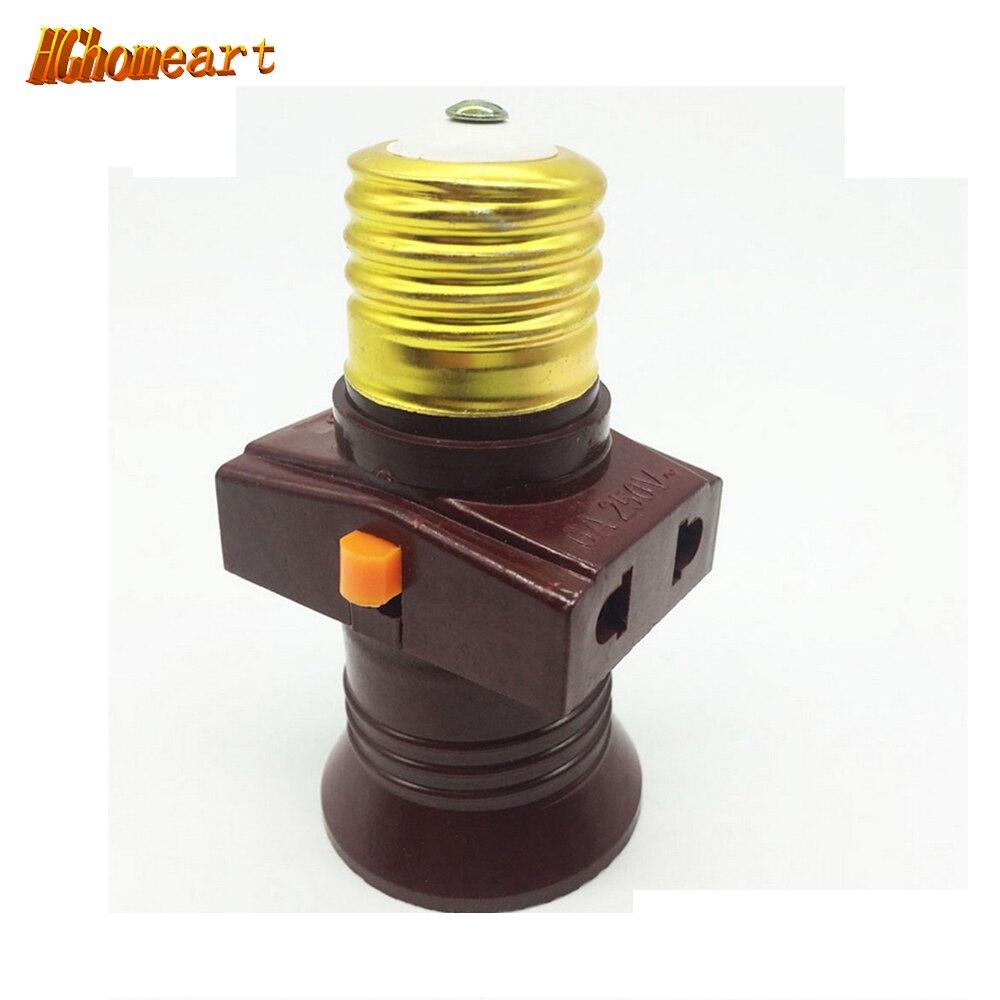 Fireproof Material vintage e27 socket AC 110V/220V LED  E27 Lamp Bases  lampholders High temperature pendant bulb holder