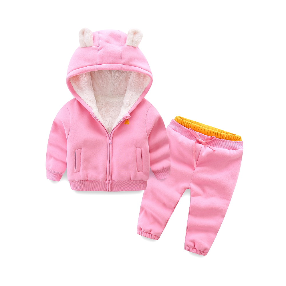 Children Warm Clothing Set 2018 Winter New Fashion Boys Girls Comfortable Suit Coat+Pant Two-piece Casual Kids Cool Suit i k boy vest suit breathable sport suit for boys 2017 summer new arrived children clothing two piece set comfortable suits a1082