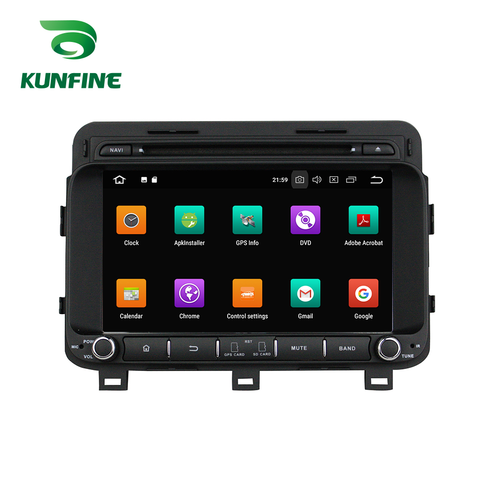 Octa Núcleo 4 GB RAM Android 8.0 Car DVD GPS Navigation Multimedia Player Estéreo para KIA K5 Optima 2014 Rádio unidade central
