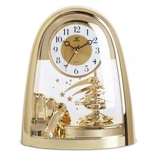 POWER Brand Silent Stopwatch Movement Table Clock 360 Degree Bidirectional Swivel Pendulum Desk Clock Living Room