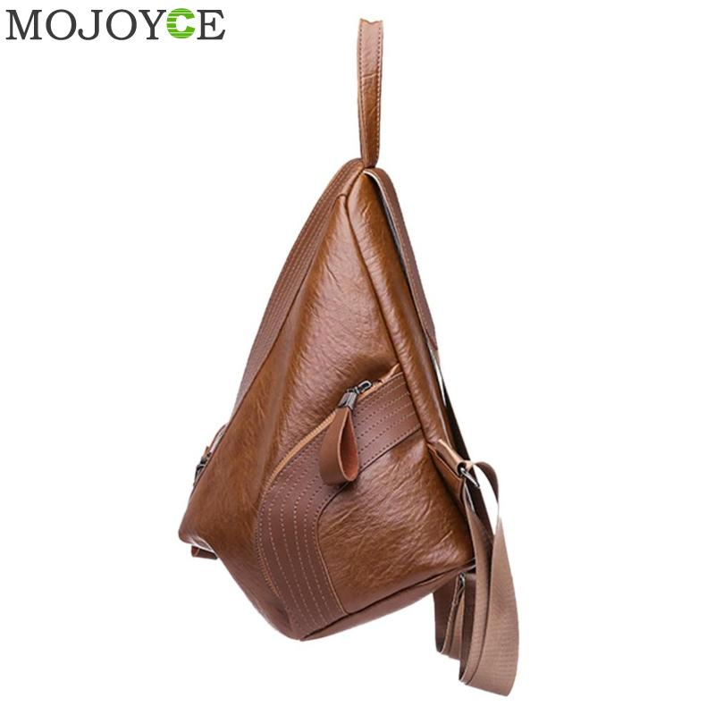 Creative Leisure Women Backpacks Women's Pu Leather Backpacks Female School Shoulder Bags For Teenage Girls Travel Back Pack #4