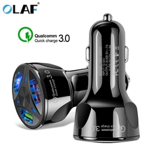 Car USB Charger Quick Charge 3 0 2 0 Mobile Phone Charger 3 Port USB Fast Car Charger for iPhone X Samsung S8 Tablet Car-Charger cheap 5V 3A RoHS Universal APPLE Xiaomi Huawei Lenovo MEIZU Sony Nokia Motorola Blackberry Other Qualcomm Quick Charge 2 0 Qualcomm Quick Charge 3 0