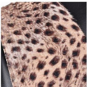 Image 4 - Haoshen & ילדה לשרוך עד הברך גבוהה חורף מגפי נשים נעלי קוספליי לבן שחור כיכר עקבים נעלי עור הנעלה גדול גודל 33 48