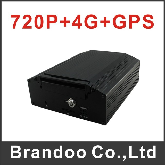4G CAR DVR, 720P mobile DVR with 4G and GPS, support live monitoring on iphone